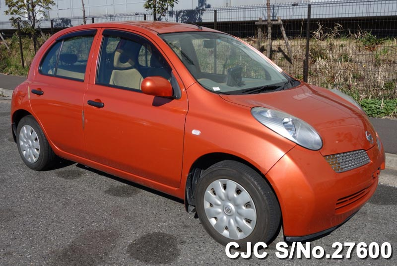 used nissan march cars