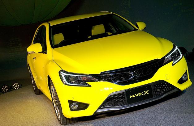Toyota Mark X Yellow Version Released Car Junction Japan