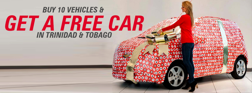 FREE Car Offer for Car Dealers in Trinidad and Tobago