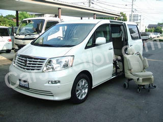 Alphard Electric Side Lift Seat