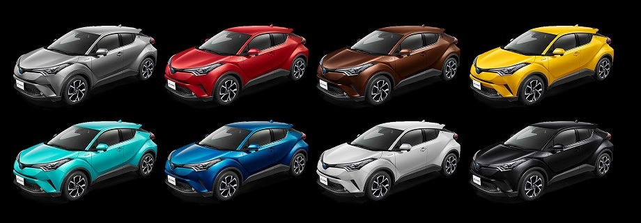 2018 TOYOTA C-HR at CAR JUNCTION