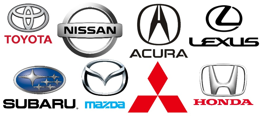 Car Brands In Japan >> Top 10 Japanese Car Brands Japanese Used Cars Blog