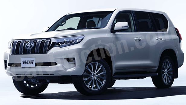 Toyota LAND CRUISER PRADO Front View
