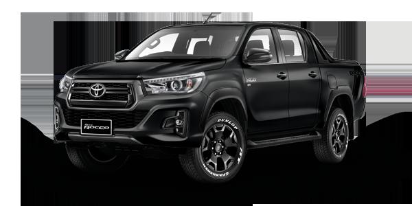 Toyota Hilux Revo Rocco Black Mica