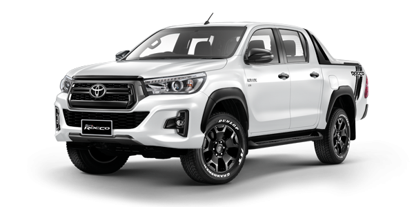 new toyota hilux revo rocco double cab 2018 at car junction. Black Bedroom Furniture Sets. Home Design Ideas