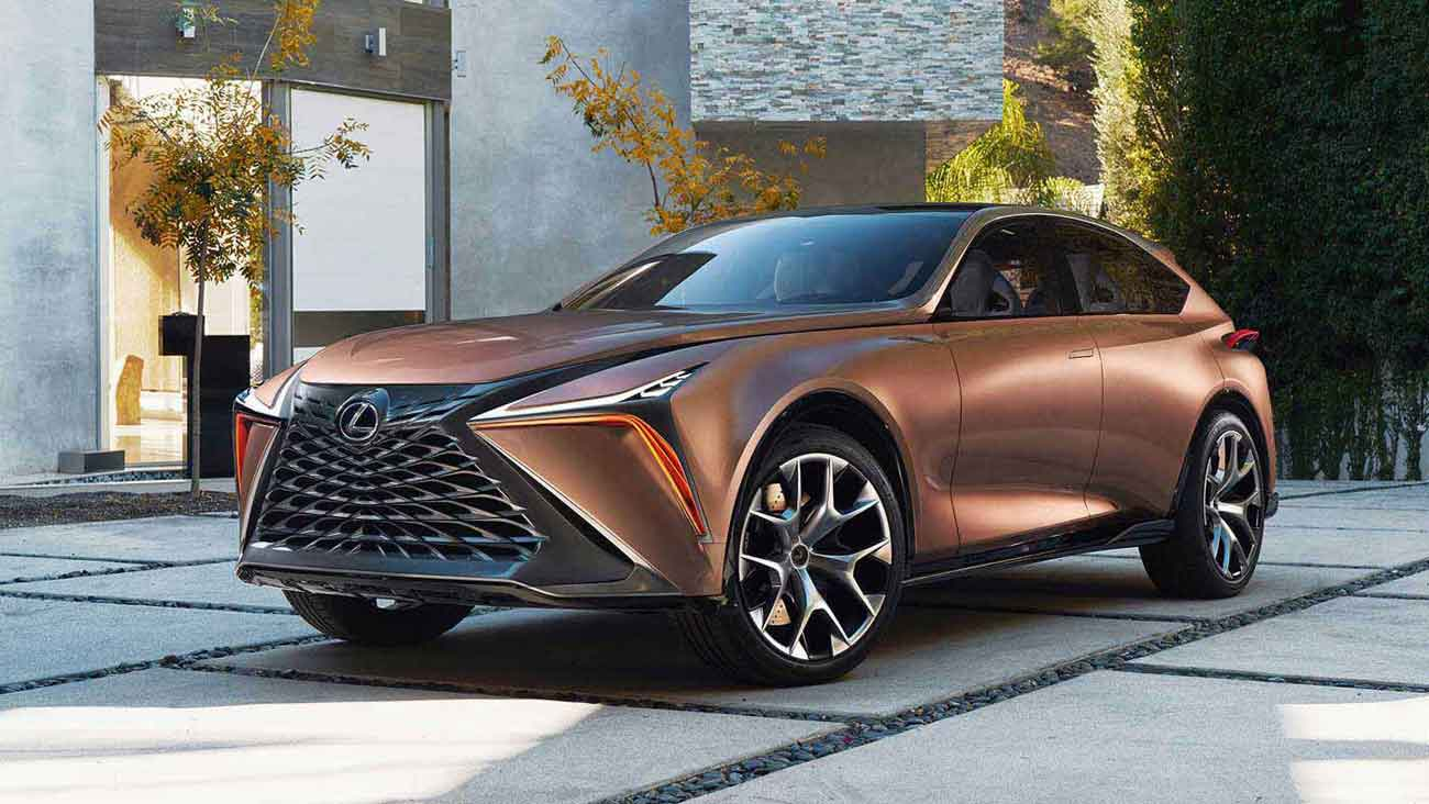 Lexus Introduces Next Generation Concept Crossover