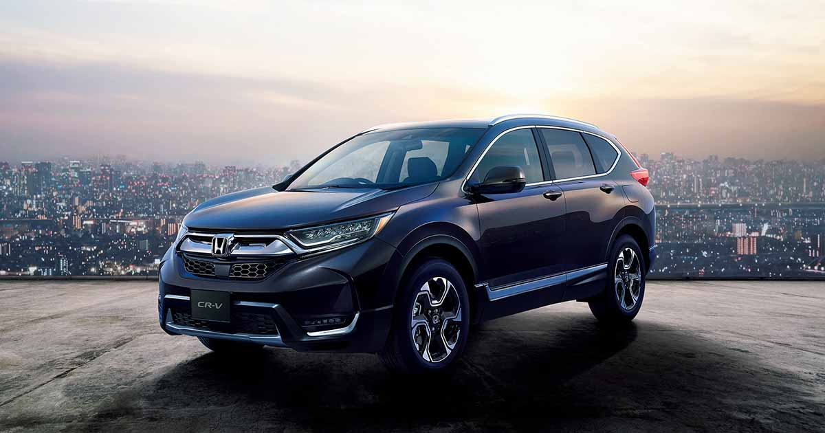 New Honda Cr-V Sporty SUV