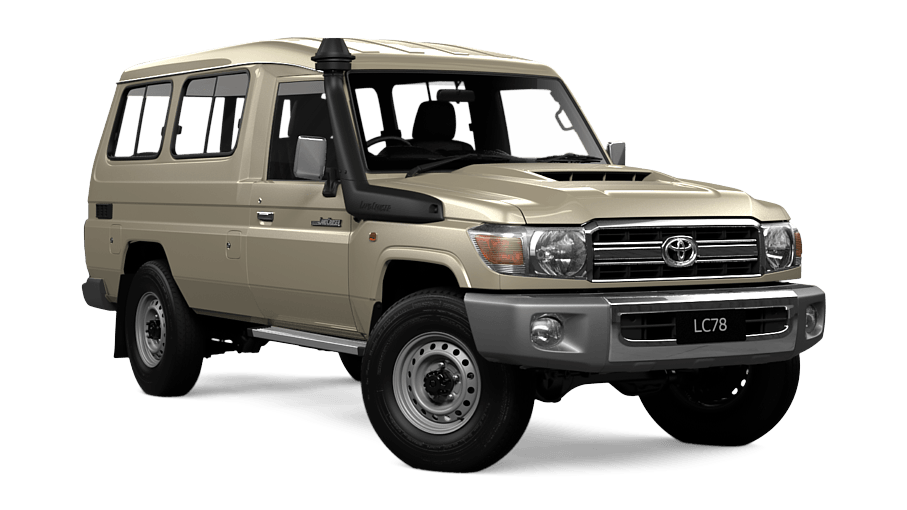 Japanese Toyota Land Cruiser 78 Series