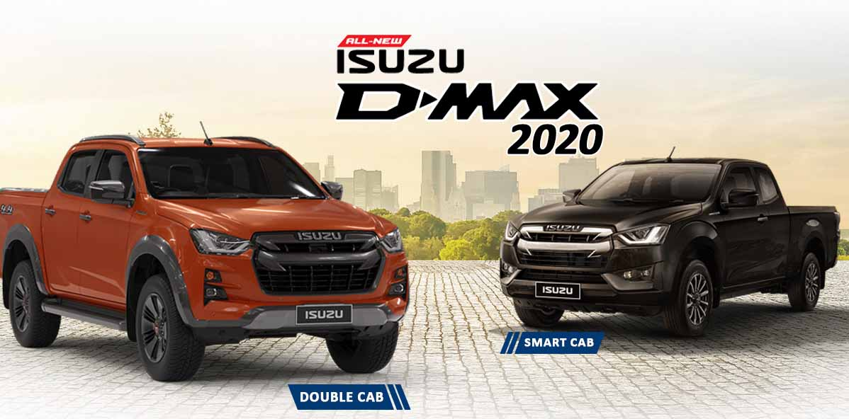 Isuzu D-Max Pickup Truck
