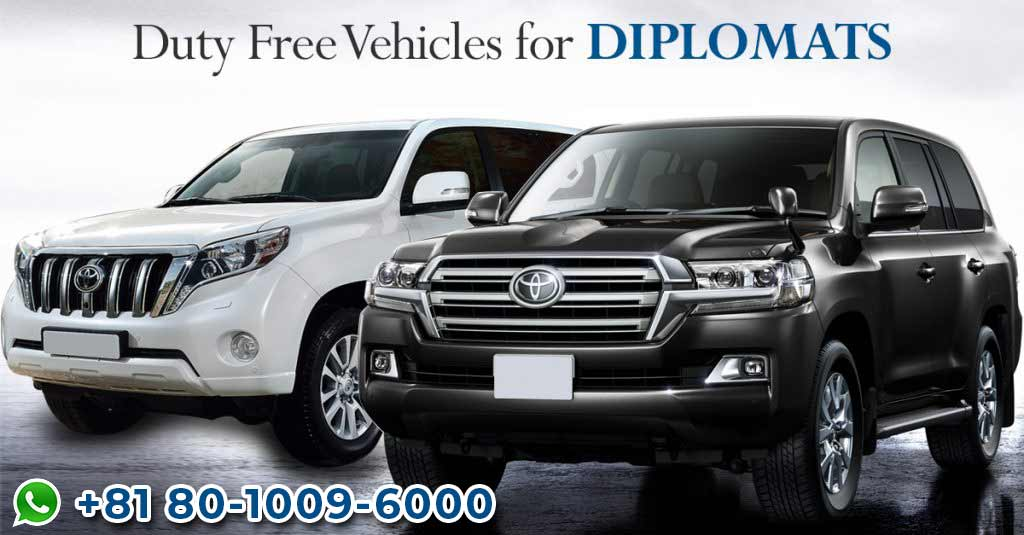 Duty Free Cars for Diplomats