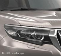 Bi-Led headlamps kadadu prado