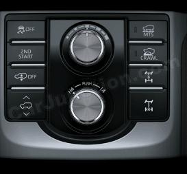 drive mode selection 2 kakadu prado